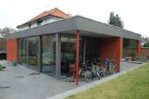 Achtergevel woning - drempelloze toegang