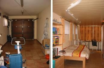 Beautiful Garage Tot Slaapkamer Verbouwen Ideas - Ideeën Voor Thuis ...
